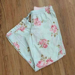 Gap floral pajama pants size S